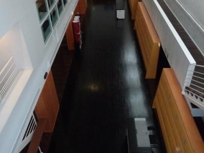 Circulations du deuxième étage - Bâtiment AB